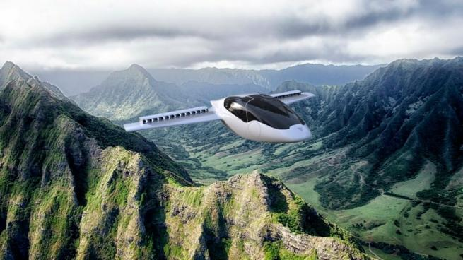 Helikopter gibi kalkış yapabilen elektrikli uçak 2