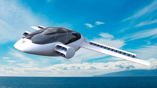 Helikopter gibi kalkış yapabilen elektrikli uçak 4