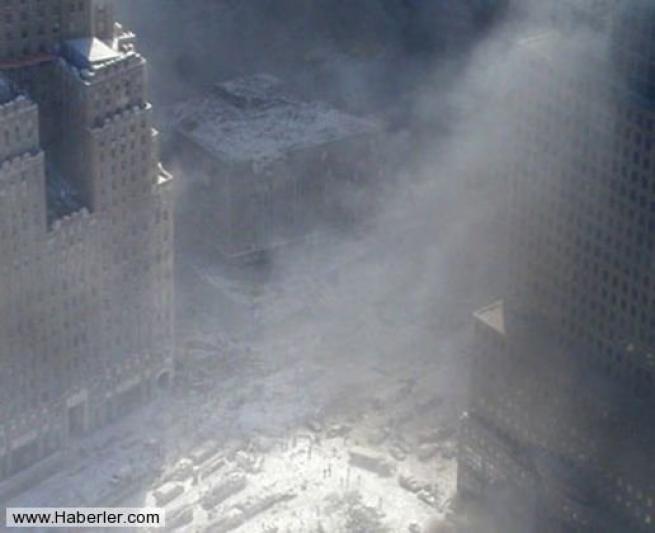 11 Eylül saldırısının hiç yayınlanmamış Bush fotoğrafları 4