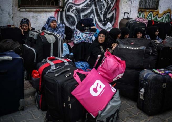Refah Sınır Kapısı 'geçici' olarak açıldı 8