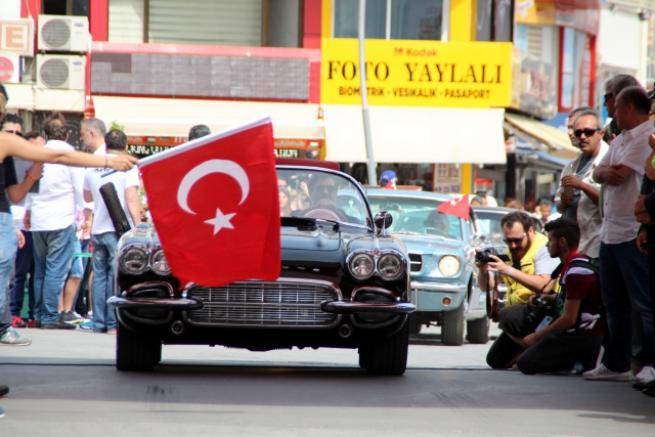 Marmaris'te klasik otomobil yarışı 4