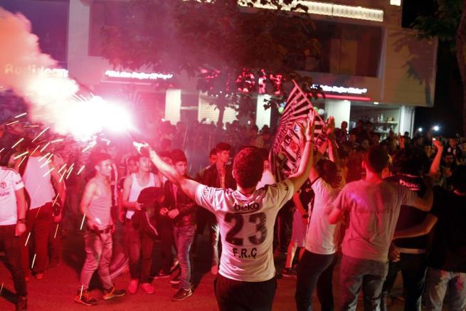 Beşiktaş şampiyonluğu böyle kutladı 5