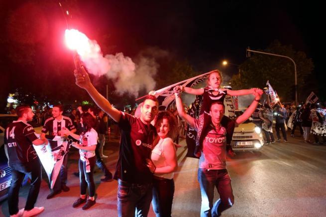 Beşiktaş şampiyonluğu böyle kutladı 9