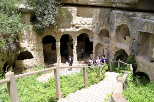 Esirlerin yaptığı tünelde tarihi yolculuk 6