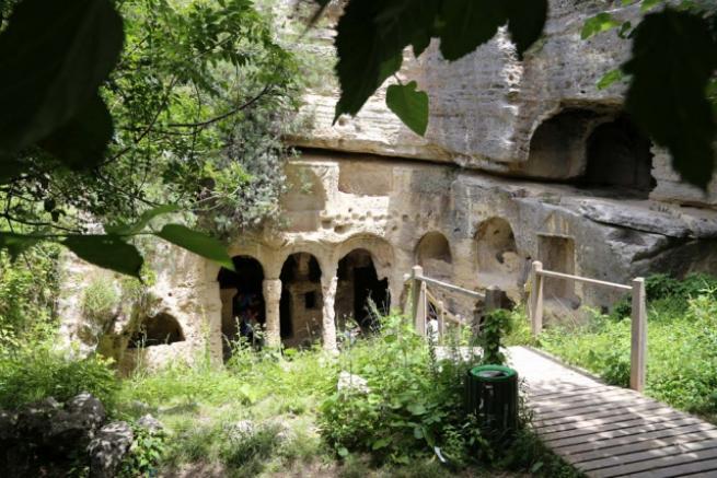 Esirlerin yaptığı tünelde tarihi yolculuk 8
