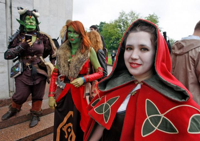Ukrayna Comic Con'dan ilginç kareler 13