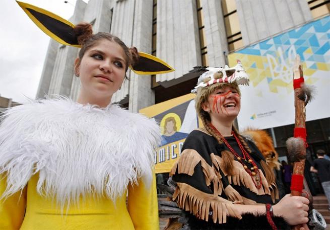 Ukrayna Comic Con'dan ilginç kareler 15