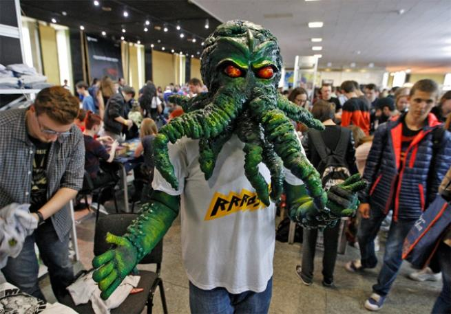 Ukrayna Comic Con'dan ilginç kareler 3