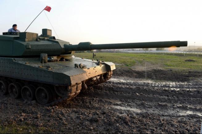 """Türkiye'nin yerli üretim tankı """"Altay"""" 12"""