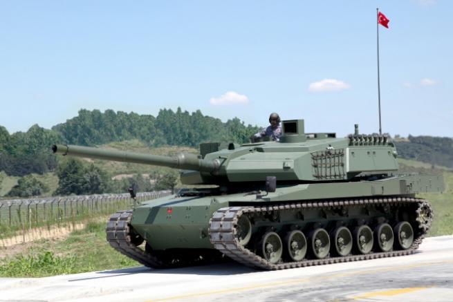 """Türkiye'nin yerli üretim tankı """"Altay"""" 2"""