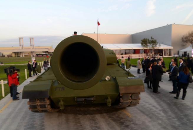 """Türkiye'nin yerli üretim tankı """"Altay"""" 3"""
