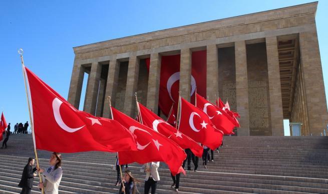 Anıtkabir'de 19 Mayıs coşkusu 2
