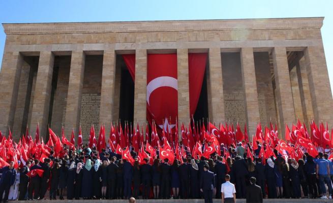 Anıtkabir'de 19 Mayıs coşkusu 24