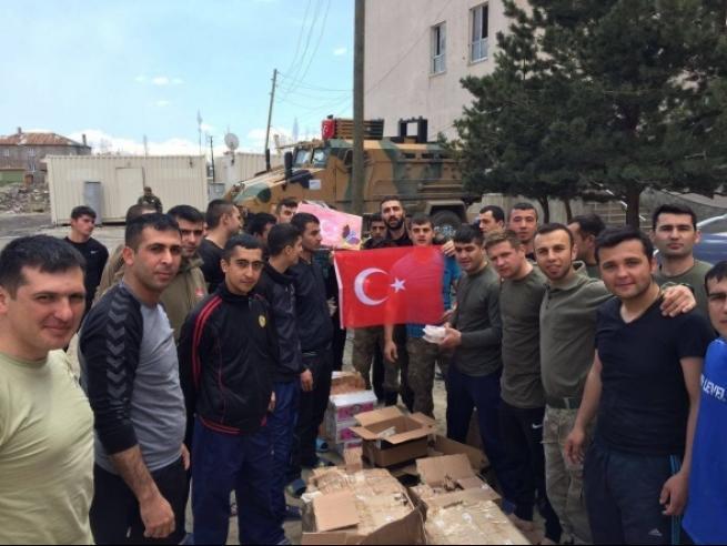 Tarsus'tan askere büyük güç desteği 3