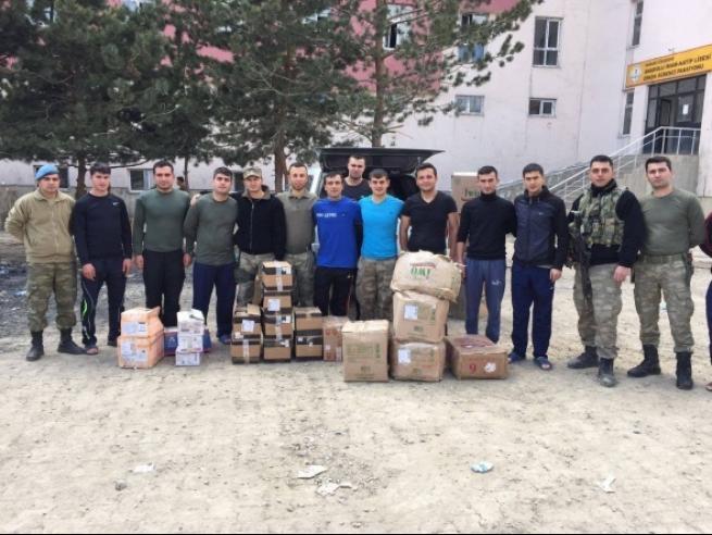 Tarsus'tan askere büyük güç desteği 5