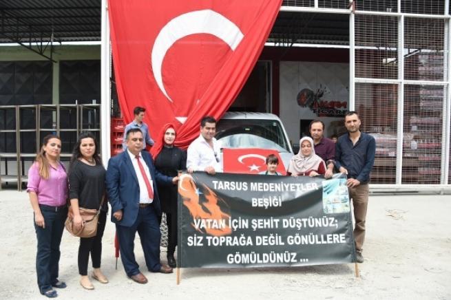 Tarsus'tan askere büyük güç desteği 9
