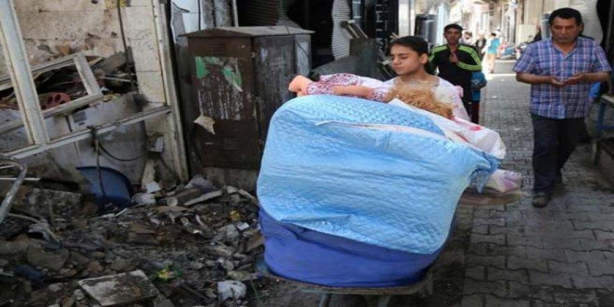 Sur'daki yasağın ardından evlerini tanıyamadılar
