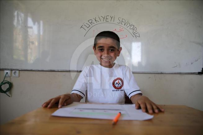 Savaşın çocuklarının eğitim aşkı 1