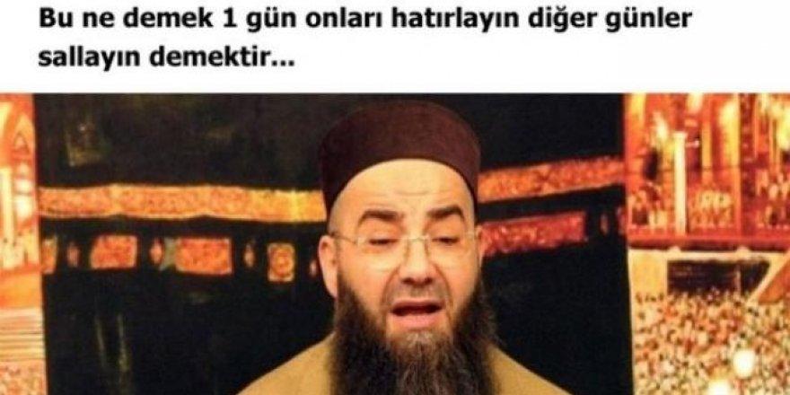 Cübbeli Ahmet Hoca'nın olay yaratan sözleri !