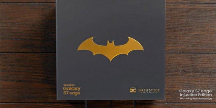 Batman temalı 'Samsung Galaxy S7 Edge'