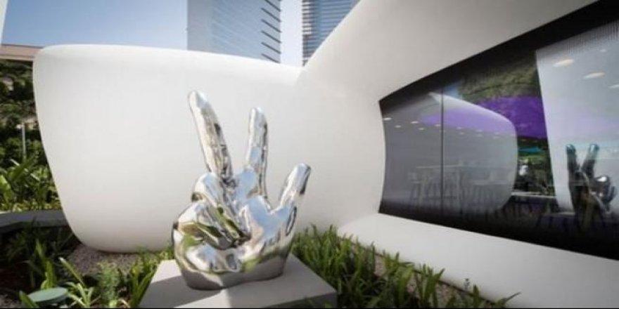 Dünyanın ilk 3 boyutlu yazıcıyla inşa edilen ofisi Dubai'de açıldı