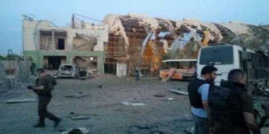 İşte Silopi'deki hain saldırının ilk fotoğrafları
