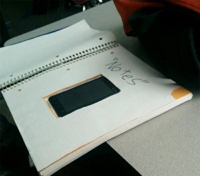 Öğrencilerin kopya ile imtihan'ı 30