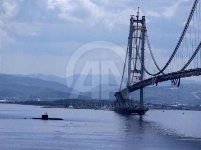 İzmit Körfez Geçişi Asma Köprüsü'nde sona doğru 4