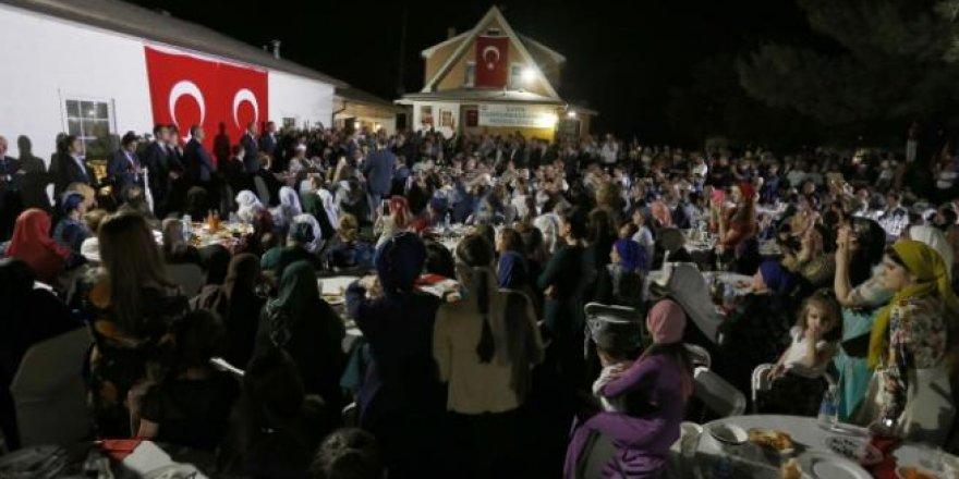 Cumhurbaşkanı Erdoğan ABD'de iftar programına katıldı