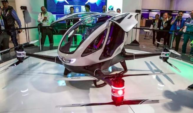 Ehang 184 Yolcu taşıyabilen ilk drone 1
