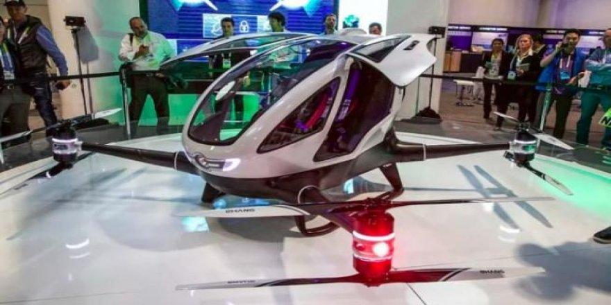 Ehang 184 Yolcu taşıyabilen ilk drone