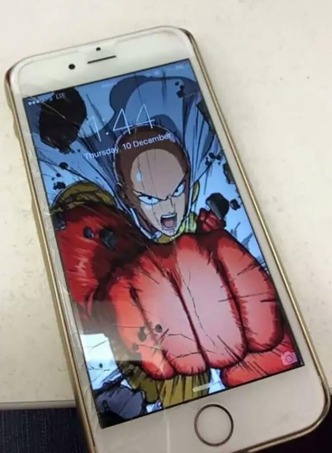 Ekranı çatlayan telefonlar için ilginç çözüm 1
