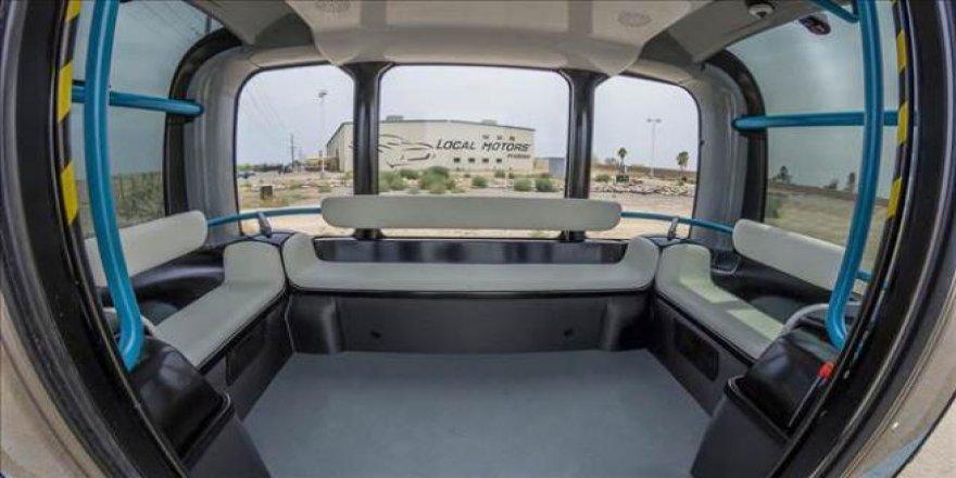Elektrikli ve Sürücüsüz Minibüs  Olli