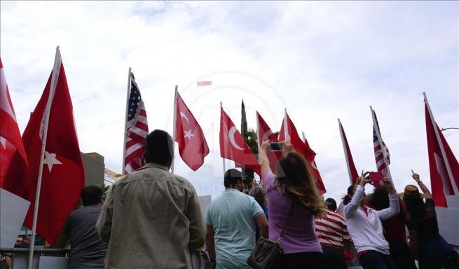 Ermenilerden Los Angeles'ta protesto 12