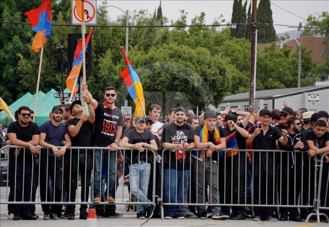 Ermenilerden Los Angeles'ta protesto 4