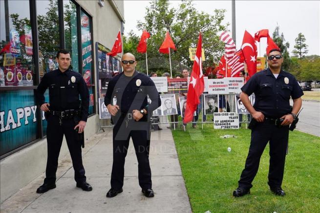 Ermenilerden Los Angeles'ta protesto 5