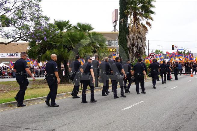 Ermenilerden Los Angeles'ta protesto 9