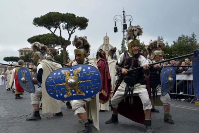 Roma'nın 2 bin 769'uncu doğum günü 10