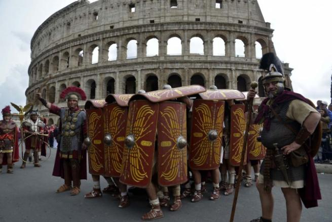 Roma'nın 2 bin 769'uncu doğum günü 11