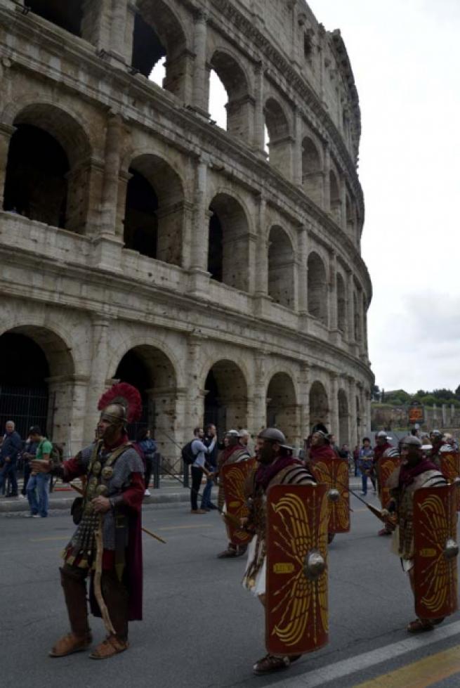 Roma'nın 2 bin 769'uncu doğum günü 12