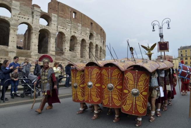 Roma'nın 2 bin 769'uncu doğum günü 13