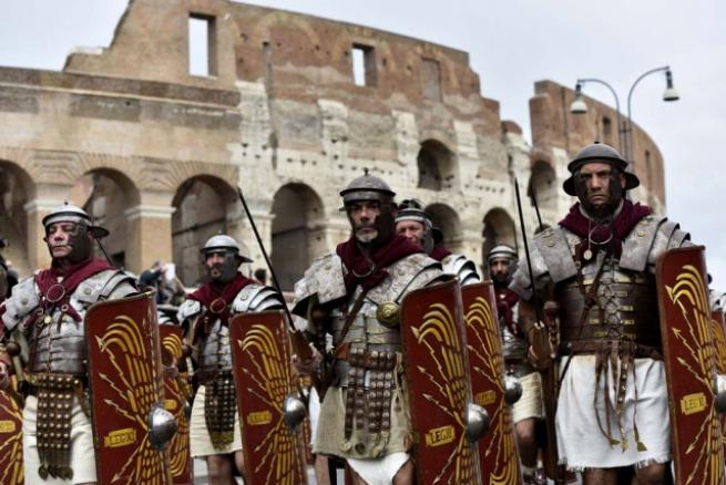 Roma'nın 2 bin 769'uncu doğum günü 4