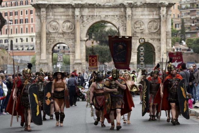 Roma'nın 2 bin 769'uncu doğum günü 7