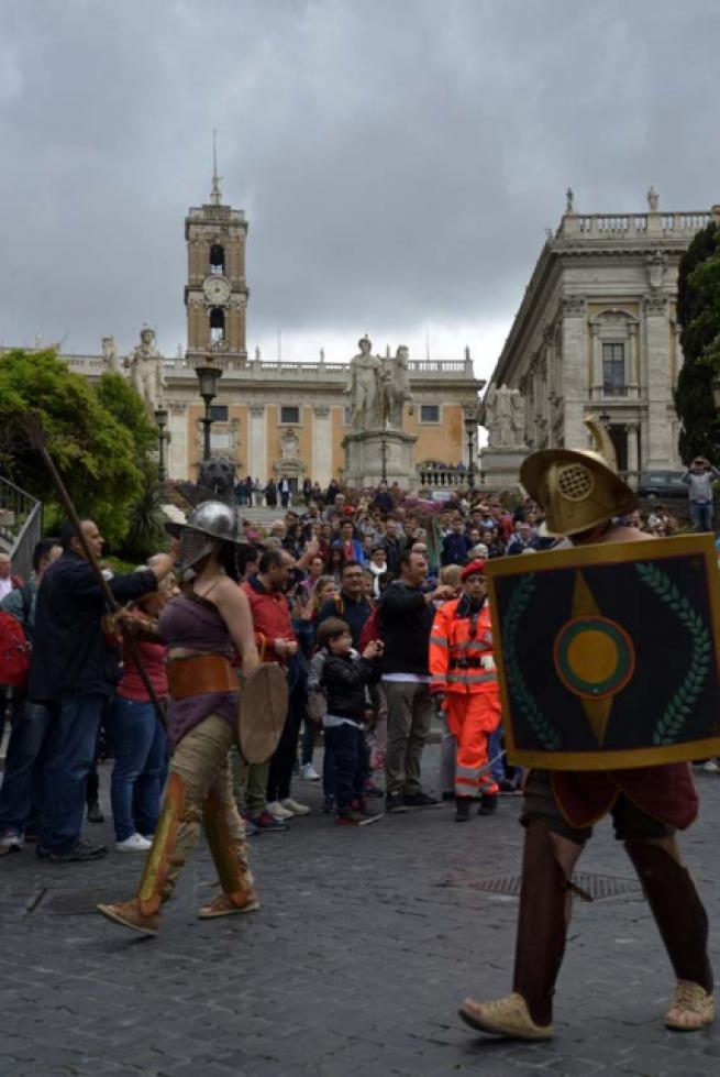 Roma'nın 2 bin 769'uncu doğum günü 8