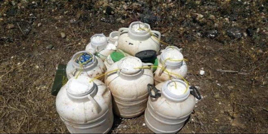 Diyarbakır'da 300 kilogram patlayıcı bulundu