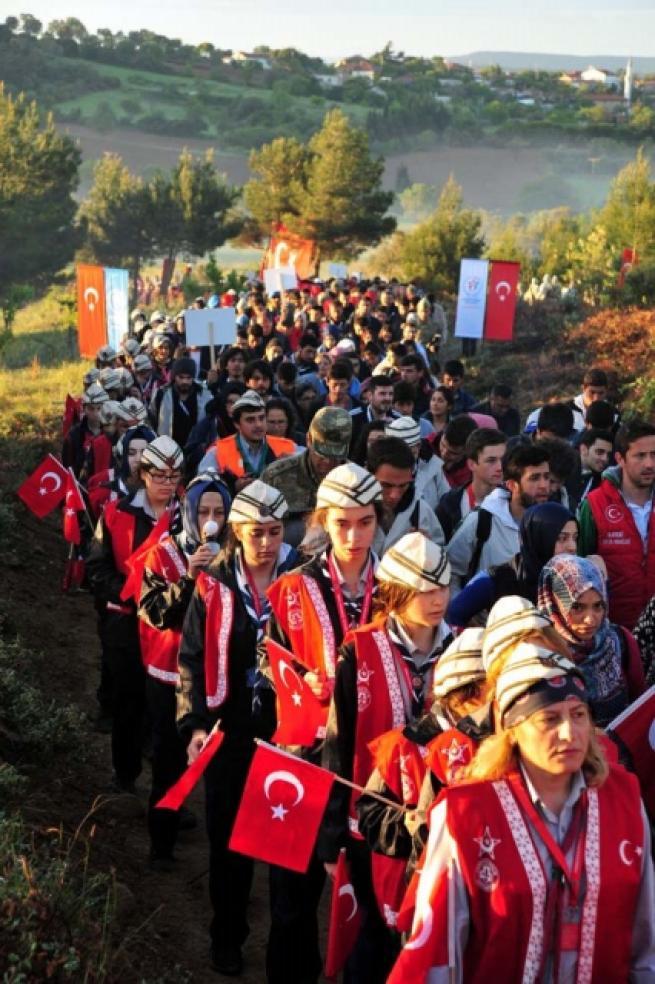 '57. Alay Vefa Yürüyüşü' 11