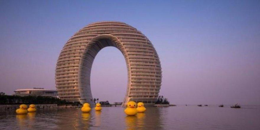 Çin'de artık böyle bina yapılmayacak