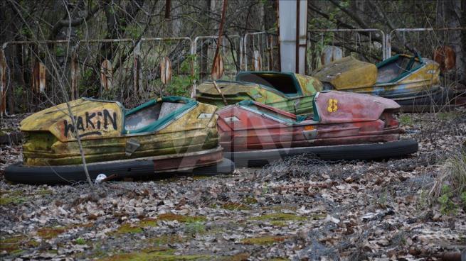 Dünyanın en büyük nükleer felaketi Çernobil'in üzerinden 30 yıl geç 10