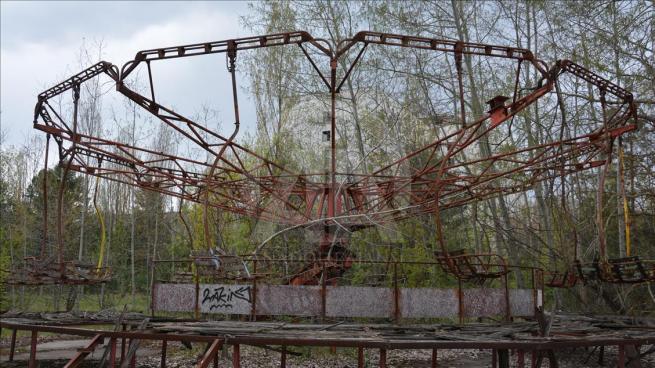 Dünyanın en büyük nükleer felaketi Çernobil'in üzerinden 30 yıl geç 7