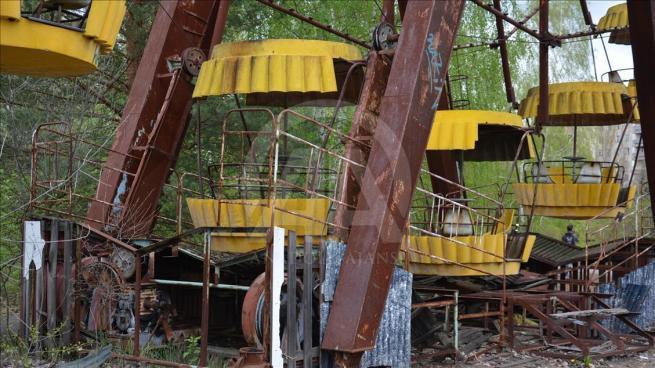 Dünyanın en büyük nükleer felaketi Çernobil'in üzerinden 30 yıl geç 8